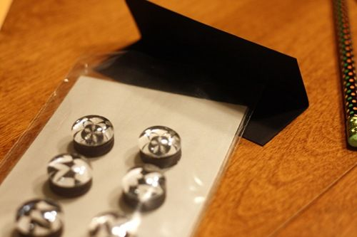 pendant magnets; use flat marbles