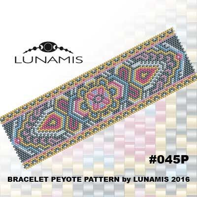 PATTERN ONLY. Create this beautiful peyote cuff bracelet.  Miyuki Delica Beads size 11/0 Odd count with 6 bead colors. 35 bead columns by 91 bead rows. Width: 1.8 (4,7 cm) Length: 6.2 (16 cm)   Patterns include: - Large colored numbered graph paper (and non-numbered in another files) - Bead legend (numbers and names of delica beads colors ) - Word chart - Pattern preview  This pattern is intended for users that have experience with even count peyote and the pattern itself does NOT include…