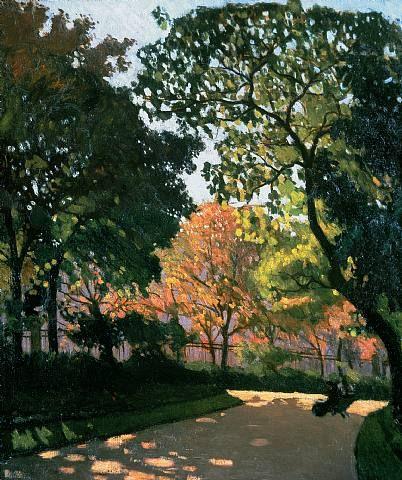 Albert Marquet - Jardin du Luxembourg
