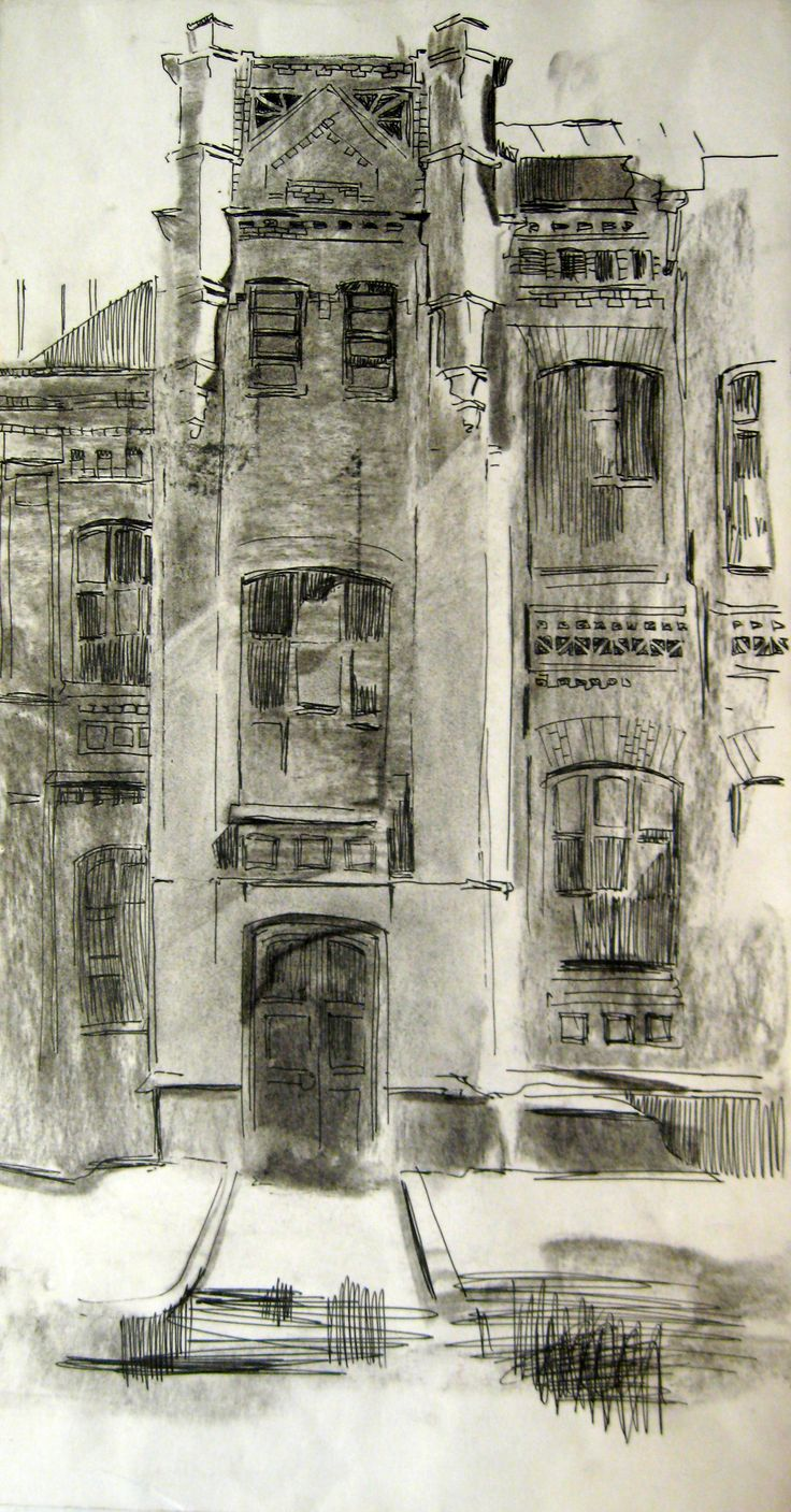 sketches by Zorina Getman (charcoal, ink pen)