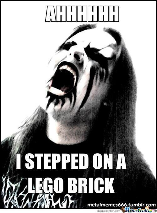Black metal rage