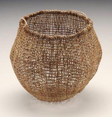 Tasmanian aboriginal basket