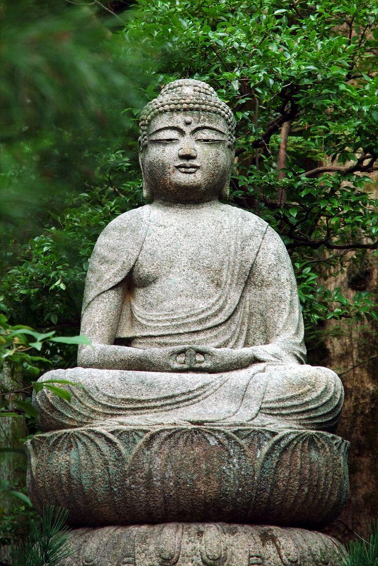 Buddha, Ryoan-ji (Kyoto, Japan)