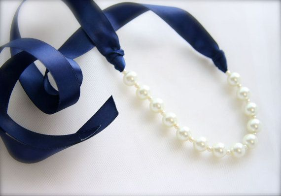 17 best images about bridal jewelry on pinterest wedding for Ribbon tie necklace jewelry