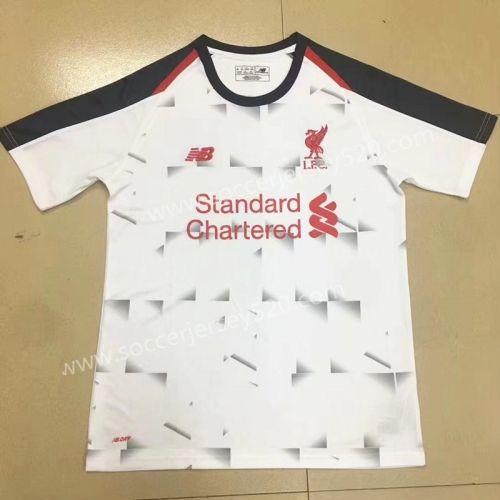 big sale ef877 fb32d 2018-19 Liverpool 2nd Away Gray Thailand Soccer Jersey AAA ...