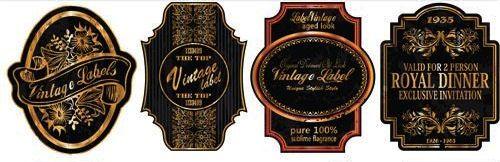 Vectores de Etiquetas Vintage Gratis