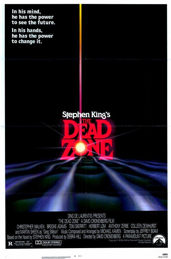 The Dead Zone , starring Christopher Walken, Brooke Adams, Tom Skerritt, Herbert Lom. A man awakens from a coma to discover he has a psychic detective ability. #Horror #Sci-Fi #Thriller