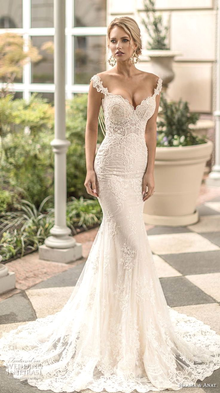 Elegant wedding dress. Ignore the soon to be husband, for the ...
