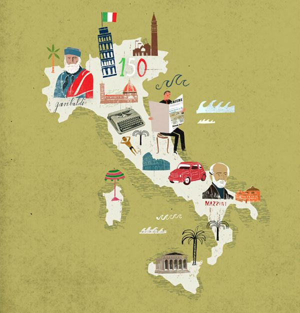 Italy! I WILL visit this country one day! And eat a TON of food!