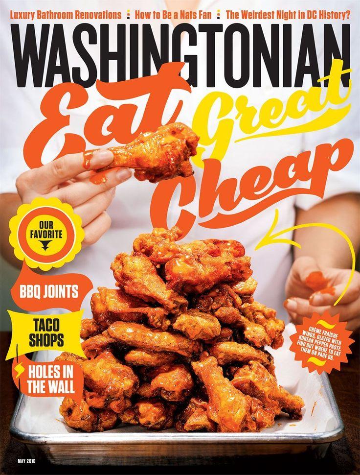 May 2016: Eat Great Cheap!