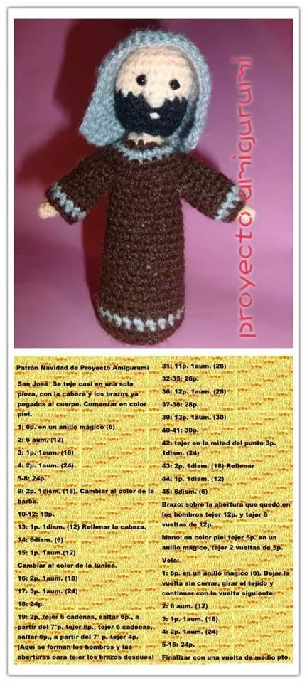 236 best Navidad amigurumi images on Pinterest | Navidad amigurumi ...