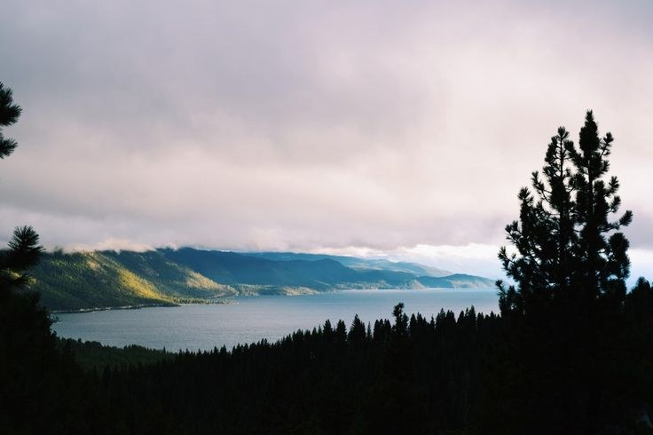 Storm clouds approaching Lake Tahoe, NV. Taken at the Cloud 9 Lookout. [6000x4000] : tahoe