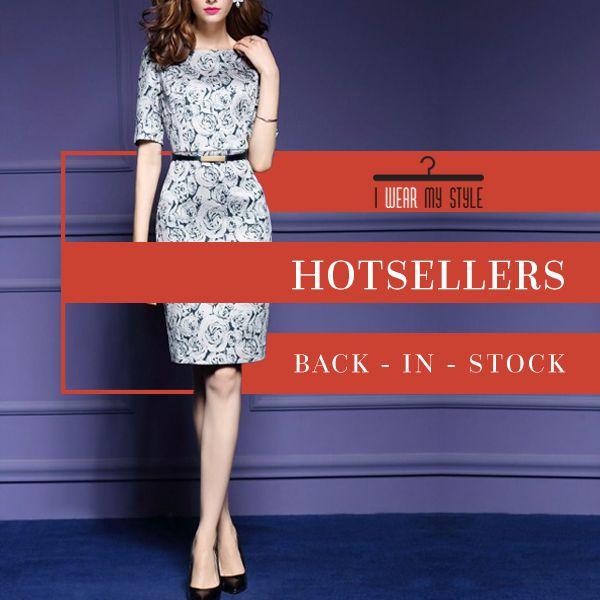 Hot-seller dresses back in stock
