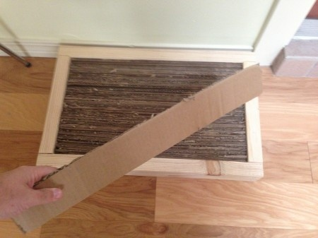 How To Build A Cat Scratch Box From Scrap Wood And