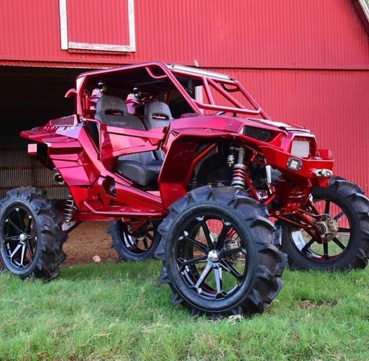 raspberry red polaris rzr!