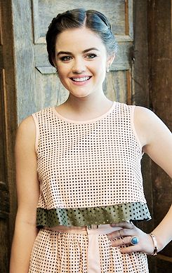 lucy hale - the Pretty Little Liars Press Conference at Soho House. June 13, 2014