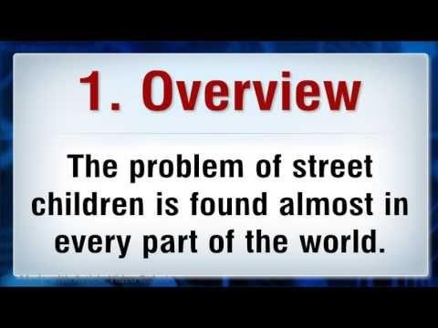 The Menace of Street Children
