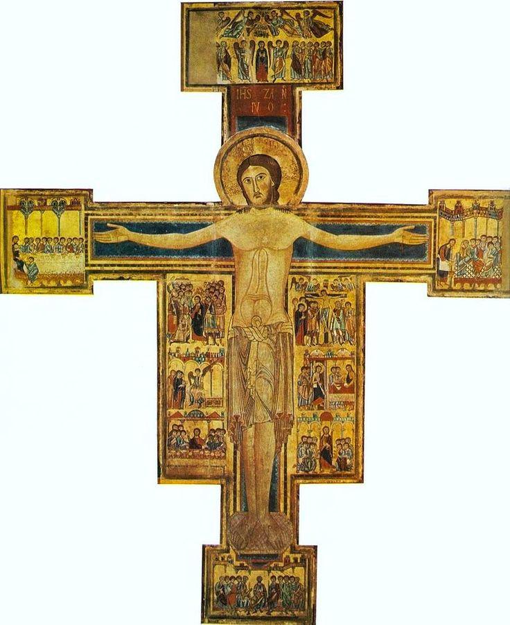 Croce della chiesa del santo sepolcro, pisa, 1150-1200 ca., museo di s. matteo.jpg