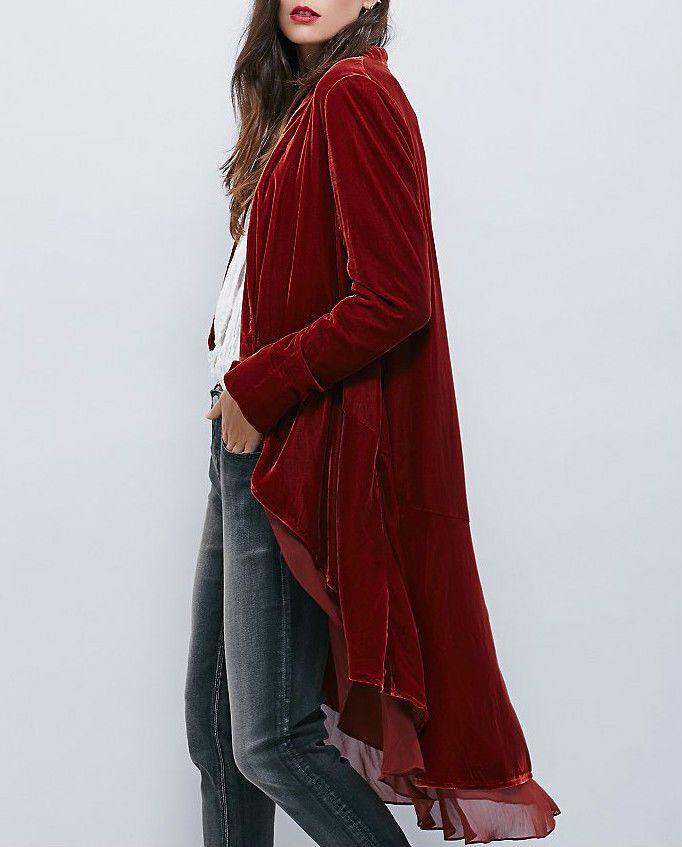 ☮ Free People Rust Swingy Velvet Jacket ☮ SMALL | Одежда, обувь и аксессуары, Одежда для женщин, Пальто и куртки | eBay!