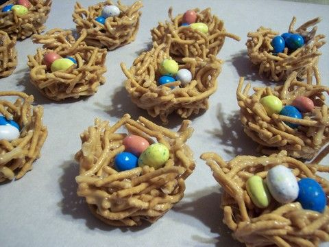 The absolute cutest Easter treat...bird's nest!