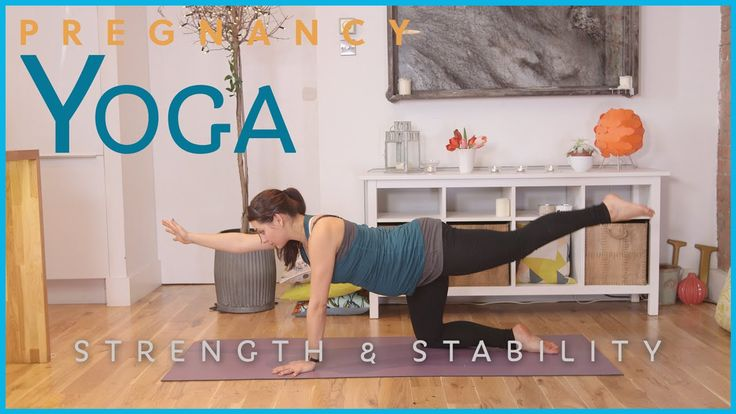 am loving these prenatal yoga from tonic on youtube