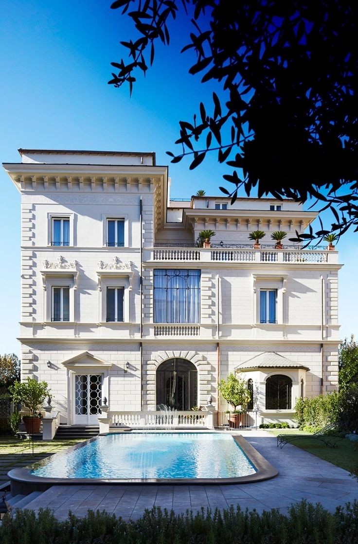 295 best domiciles images on pinterest architecture for Top design hotels rome