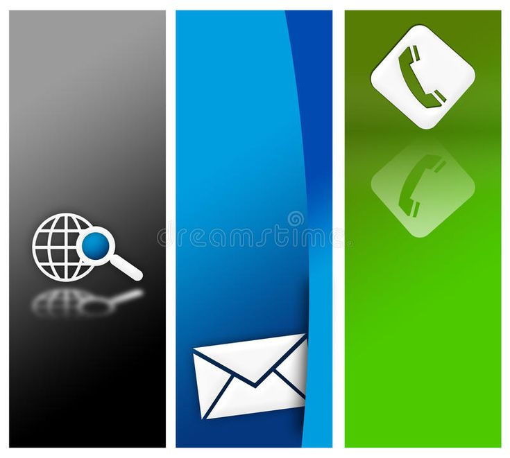 Website Banner Design Royalty Free Stock Images - Image