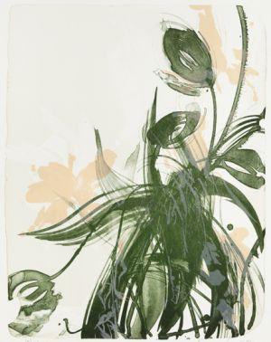 Sirviö Kaisu: Ranskalaiset tulppaanit (vihreä), vedos