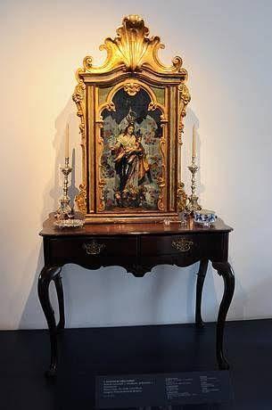 Resultado de imagem para oratórios, altar católicos