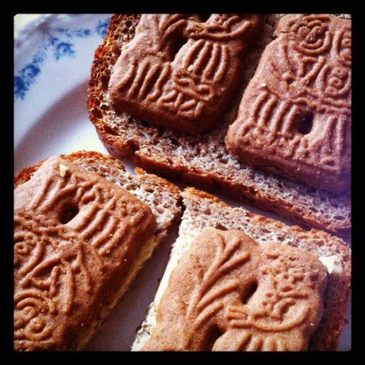 speculaas op brood
