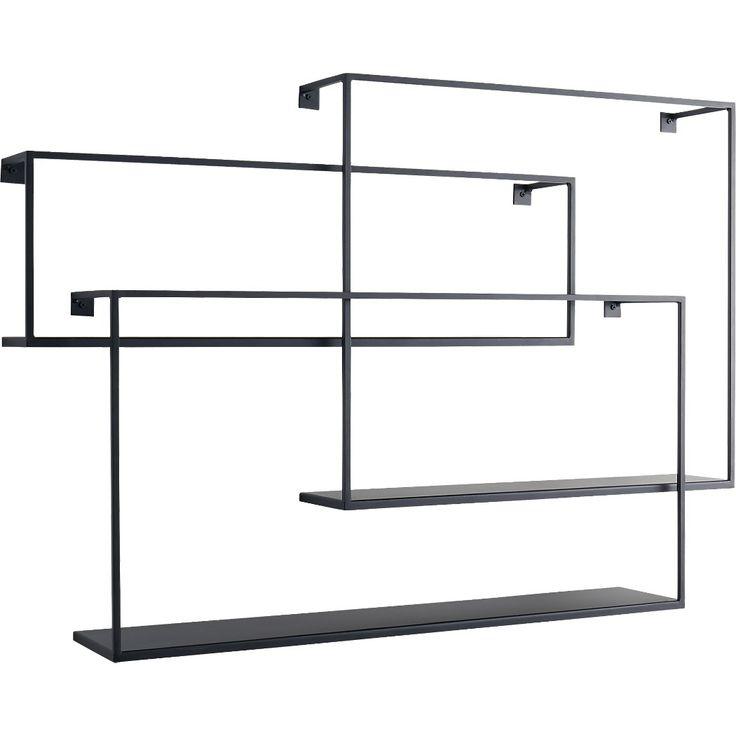 the 25 best ideas about black floating shelves on. Black Bedroom Furniture Sets. Home Design Ideas