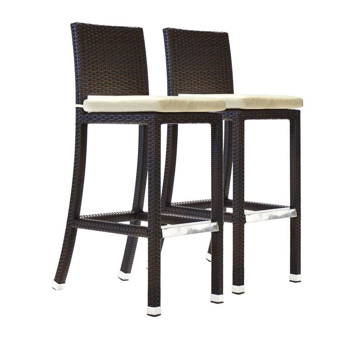 Shop Wayfair For Patio Bar Stools To Match Every Style And Budget. Enjoy  Free Shipping