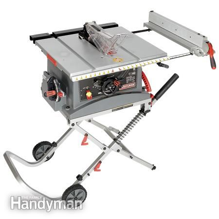 Craftsman JT2502RC: Portable Table Saw Reviews http://www.familyhandyman.com/tools/table-saws/portable-table-saw-reviews/view-all