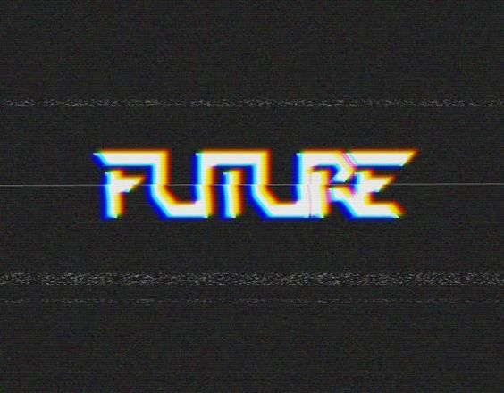 Image result for 80's computer typography