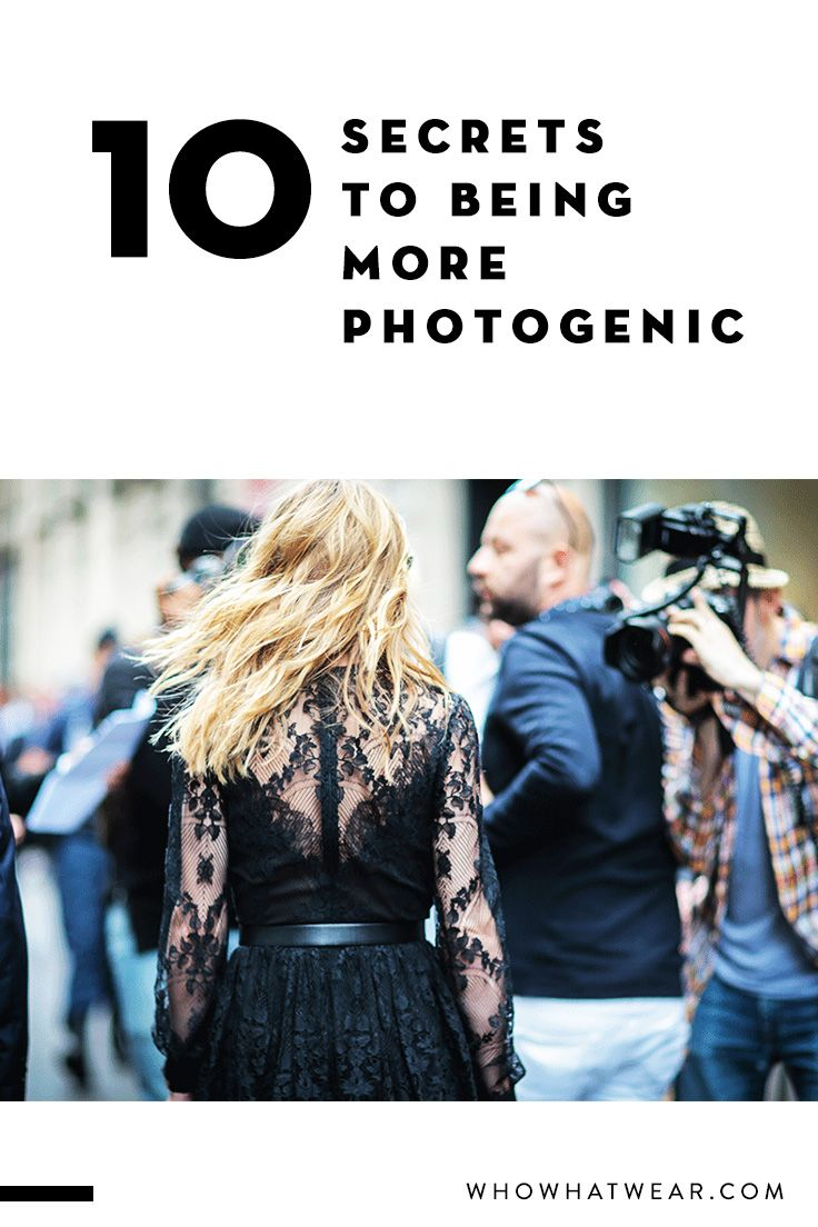 Follow these trick and look good in every photo you take