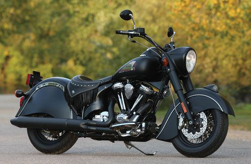 2012 Indian Chief Dark Horse...Best looking Indian available right now.