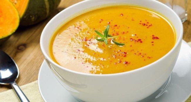 Sopa de abóbora com ricota Receita é nutritiva e ajuda na dieta por Mariana…