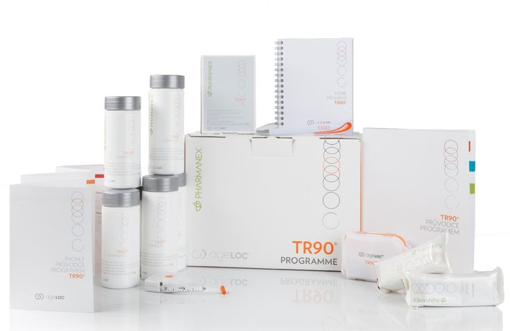 TR90 packageYour transformation starts here  TR90 is a 90-day programme that will help you achieve a healthier looking you. This innovative programme will empower you to reach your goals by targeting the sources that stand between you and your balance of well-being.