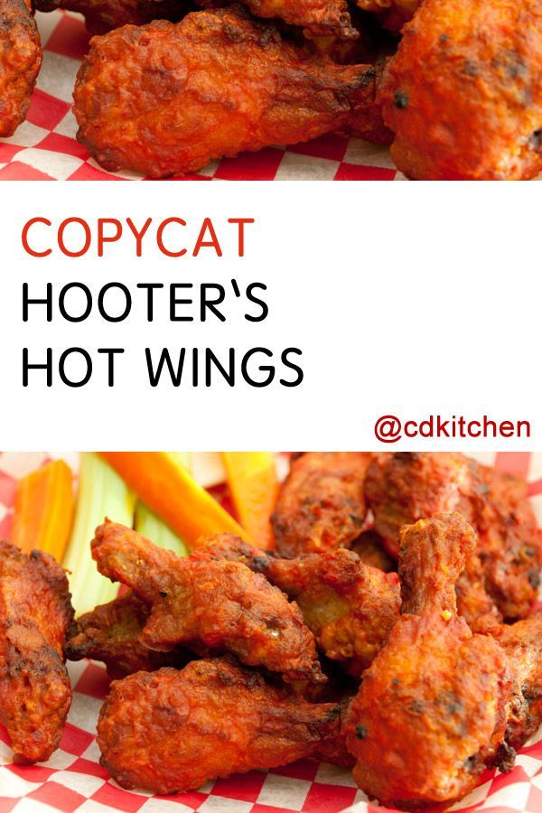 Made with hot wing sauce, cayenne pepper, chicken wings, whole wheat flour, all-purpose flour, salt, paprika | CDKitchen.com