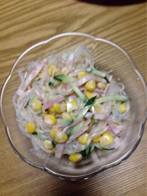 春雨プリプリのサラダ - 5件のもぐもぐ - 春雨サラダ by tarutaru
