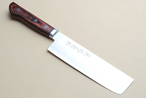Our handcrafted Yoshihiro Gold Steel knives have an inner core made of high carbon VG-1 Gold steel sandwiched in the traditional method of Warikomi between two layers of stainless steel. With a hardness on the Rockwell scale of 60, the inner core of VG-1 is prized for its high edge retention... see more details at https://bestselleroutlets.com/home-kitchen/kitchen-dining/cutlery-knife-accessories/asian-knives/product-review-for-yoshihiro-vg-1-gold-steel-nakiri-vegetable-chefs