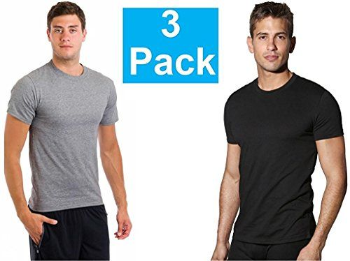Fruit of the Loom Mens 3-Pack Tall Size Crew-Neck T-Shirt