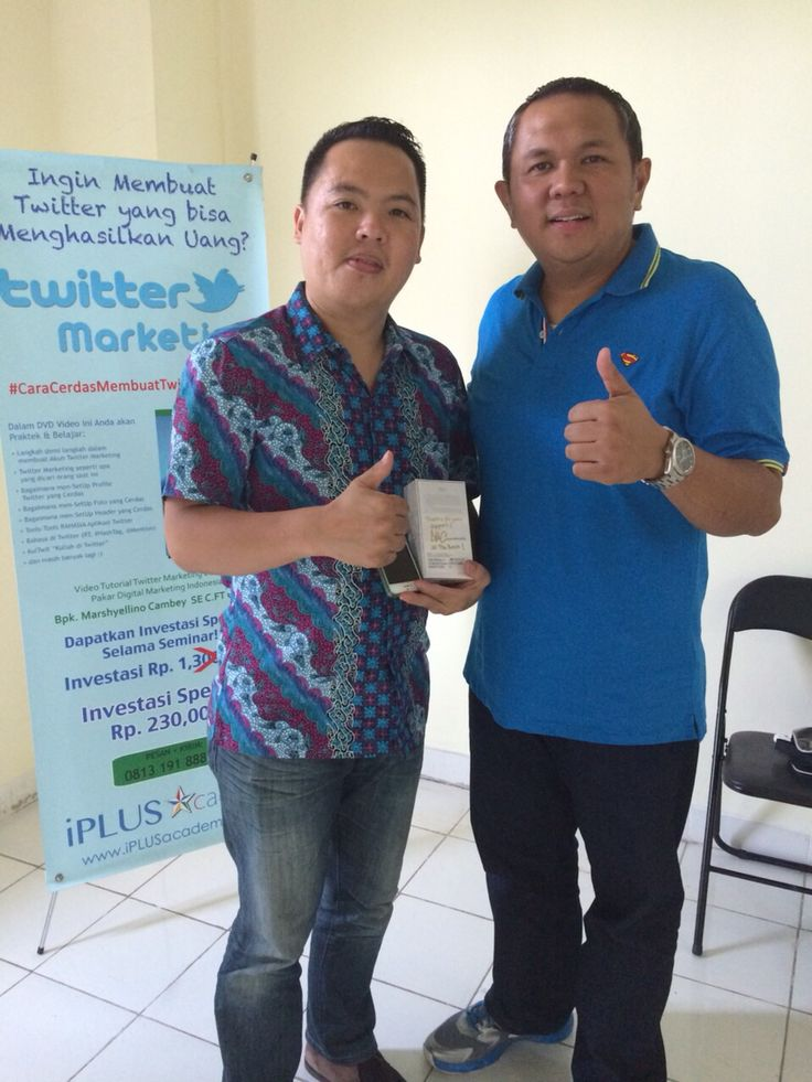 Me and Mr.Marshyellino Cambey [Pakar SEO Digital Marketing No.1 Indonesia]