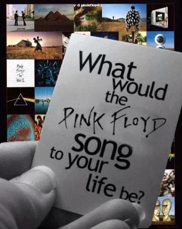 What Pink Floyd song defines your life? For me it is Breathe with Time a close second.