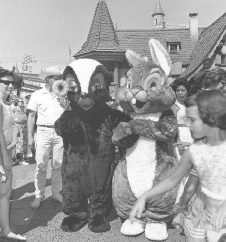 como era a Disney no passado