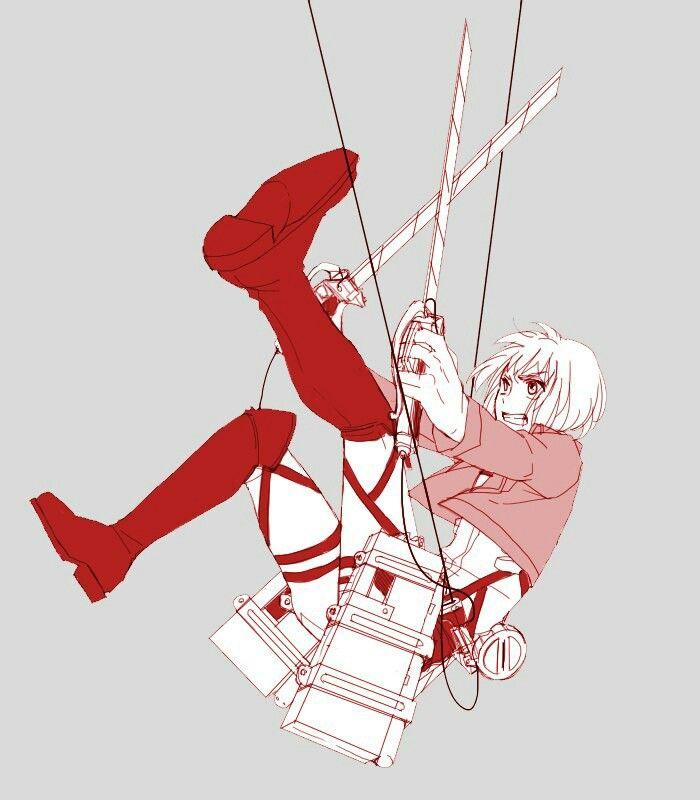#Snk Armin /red/