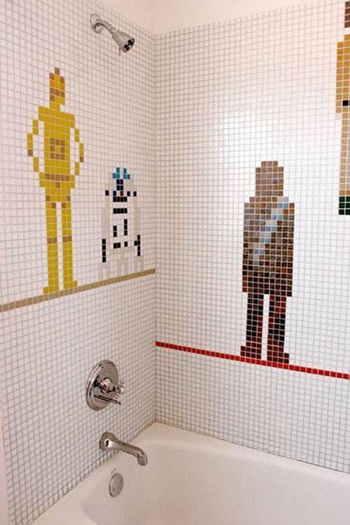 Geek shower