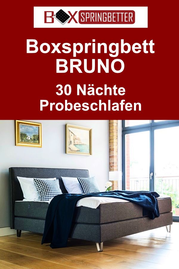 Bruno Boxspringbett 30 Nachte Testen In 2020 Bett Boxspringbett Haus