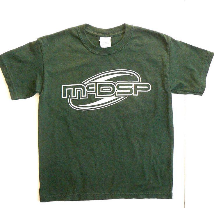 McDSP Pro Audio Gear App T-shirt Youth S Green Cotton RARE Advertising #GildanUltraCotton #TShirt #Everyday