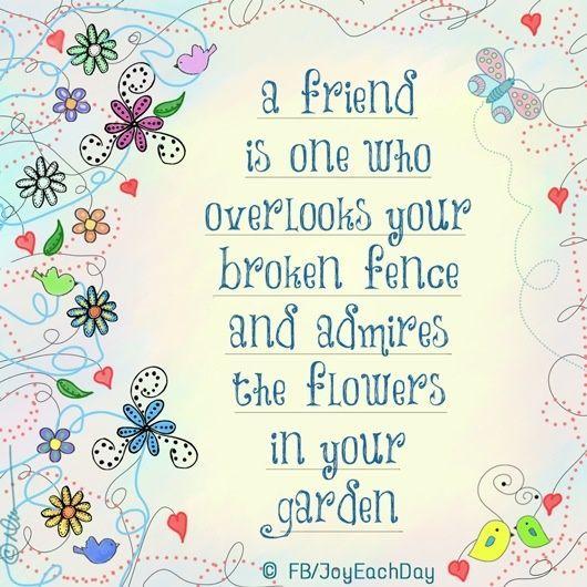 A friend is....